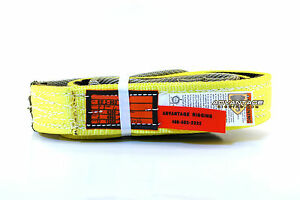 Ee2 902 X6ft Cut Slip Resistant Nylon Lifting Sling Strap 2 Inch 2 Ply 6 Foot