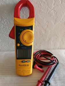 Fluke 902 Hvac Clamp Meter With Test Leads