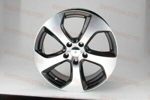 Set Of Four 16 Black Gti Sport Style Rims Wheels Fits Vw Rabbit Cc Jetta 5x112