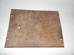 Allis Chalmers Wd 45 Farm Tractor Battery Box Cover small Rust Hole In It
