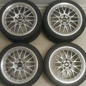 18 Bbs Rs 789 787 Jdm Wheels 5x114 3 18x9 18x8 Rare Vip Imported Rims Mesh