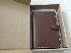 Filofax Original Organizer Personal Retro Brown C022434 Any Year Planner