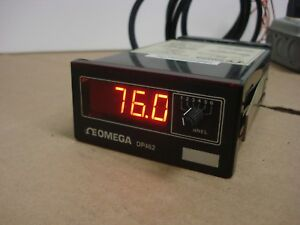 Omega Dp462 Thermocouple Digital Panel Meter