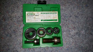 Greenlee Slug Buster 7235bb Knockout Punch Set