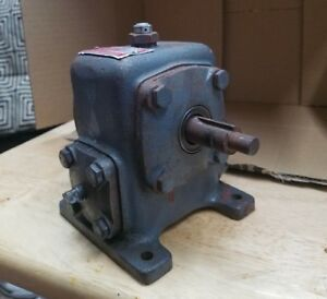 Perfection Gear Speed Reducer Worm Gearbox Sb1310b 10 1 Ratio Serial 367c 50hp