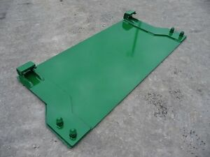 John Deere Tractor Loader Quick Tach Weld On Mounting Plate Free Ship