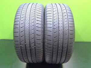 2 Excellent Tires 225 50 17 Hankook Kinergy Gt 94v 75 Life Volkswagen 46606