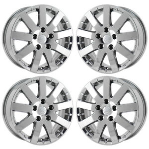 17 Chrysler Pacifica Pvd Chrome Wheels Rims Factory Oem Set 4 2401