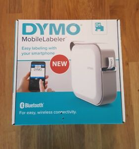 Dymo Mobilelabeler Label Maker With Bluetooth Smartphone Connectivity 1982171