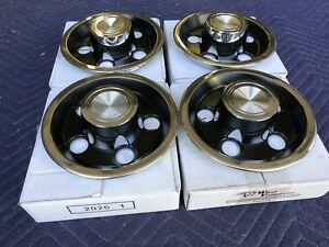 65 68 Pontiac Gto Tempest Rally 1 One Wheel Center Caps New Set Of 4 Repro