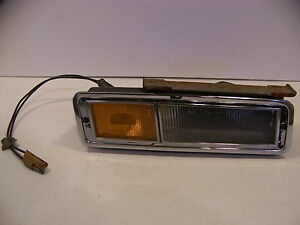 1971 Chrysler Imperial Lh Front Turn Signal Assy Complete Oem Lebaron