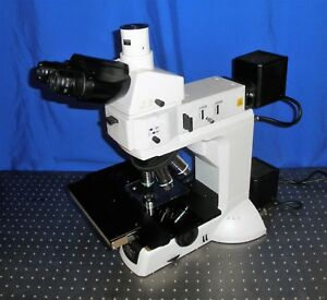 Nikon Eclipse Lv 100 D Metallurgical Microscope With Marzhauser Encoder Stage