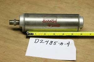 Bimba D 2485 a 4 Air Reservoir Bore Size 2 4 74 Cubic Inches