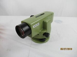 Wild Heerbrugg Wild Na2 Automatic Surveying Level W Case Manual