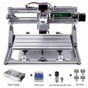 Diy Cnc Router Kits 3018 Grbl Control Wood Carving Milling Engraving Machine wo