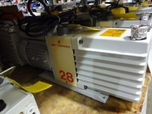 Edwards E2m28 Vacuum Pump Rebuilt And Tested With 6 month Warranty