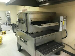 Double Stack Conveyor Pizza Oven mastermatic Lincoln