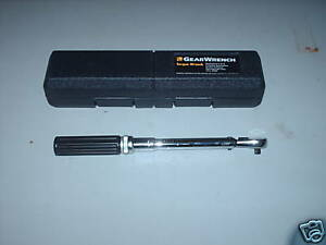 Kd Tools 1 4 Torque Wrench 30 200 In lb Aircraft Automotive Aviation Tools