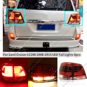 Update To 2016 Model Led Tail Lamps For Toyota Land Cruiser 2008 2015 Right left
