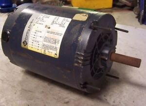 New Franklin 3 4 Hp Electric Ac Motor 200 230 460 Vac 1140 Rpm 56 Frame 3 Phase