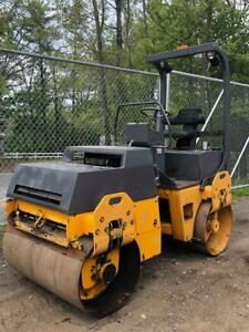 Bomag Bw120ad 3 Compactor Vibratory Tandem Roller Smooth Drum Water Sprayer