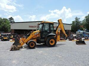 2015 Jcb 3cx14 Backhoe Loader Cat Deere Very Nice Loaded Out