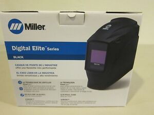Miller 281000 Digital Elite Welding Helmet W Clearlight Lens Black Ships Free