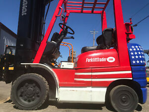 Toyota Cushion Tire 276 Quad Mast Forklift Lifttruck Hilo