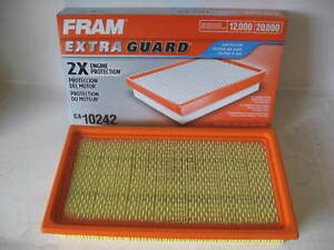 Fram Ca10242 Air Filter Fits Ford Motorcraft Fa1884 7t4z9601a Cy0113z40a