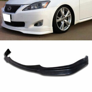 Ground Effect Pu Black Poly Front Bumper Lower Lip For 06 08 Lexus Is250 Is350