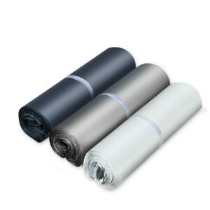 Poly Mailers Plastic Envelopes White Shipping Mailing Bags Self Seal All Sizes