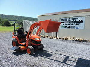 2011 Kubota Bx2360 Sub Compact Tractor Loader Belly Mower Diesel 4x4 Pto 3 Point