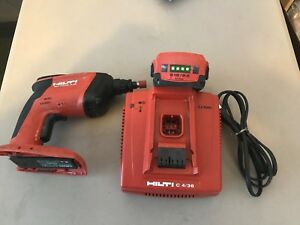 Hilti Sd4500 a18 Cordless Drywall Driver Screwdriver With Battery