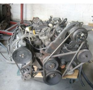 460 Ford Engine Motor Block And Transmission