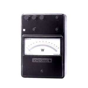 Yokogawa 204112 Portable Single Phase Low power factor Wattmeter 1 5