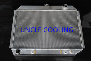 New 3 Rows Aluminum Radiator Dodge Mopar 26 Core Big Block 1970 74 Cc375