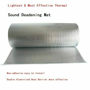 Dual Bubble Double Reflective Foil Insulation Radiant Barrier 39 w Choose Size