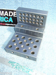 Angle Plate Step 7 14 Toolmaker Machist Tapped 1 4x20 Inspect Grinder Mill Qa