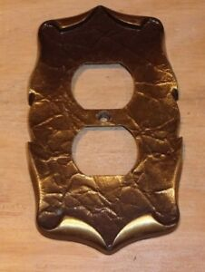 Vintage Amerock Carriage House Bronze Outlet Cover Ships Free