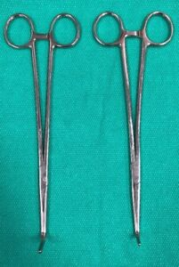 Sklar Lahey Gall Duct Forceps 9 Lot Of 2
