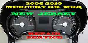 2008 Mercury Grand Marquis Instrument Cluster Software Odometer Calibration