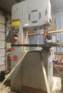 Doall 2013 10 Vertical Bandsaw 20 Variable Speed With Blade Welder And Tilt