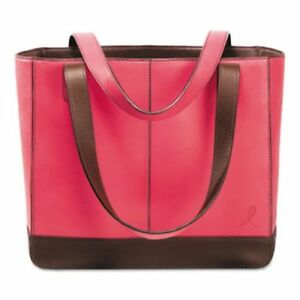 Day timer Leather Tote 11 1 2 X 4 X 10 Pink dtm48420