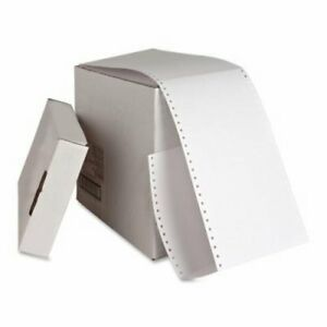 Sparco Index Cards Continuous feed Punched 4 x6 4000 ct We spr01098