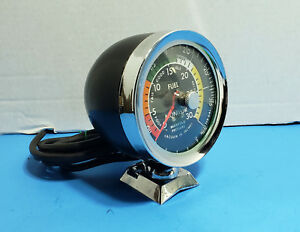 Vintage Accessory Vacuum Gauge Accurate Instruments Original 60s Era Vac Guage