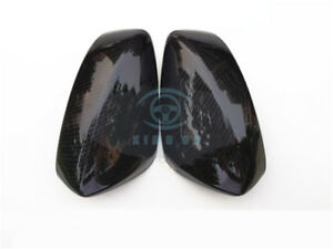 Carbon Fiber Front Outside Rearview Mirror Cover Fit For Mazda 3 Axela 2014 2016