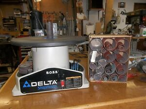 Delta B o s s Bench Oscillating Spindle Sander sa350