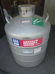 Mve Cryogenics Al 40 Liquid Nitrogen Tank For Biological Sample Storage Box Incl