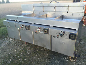 Keating 3 Well Gas Fryer Dump Stations Filteration System
