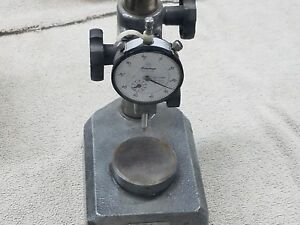 Nice Mitutoyo 7004 Fine Adjust Indicator Stand With Indicator 2416 10